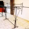 meble dla sklepu: Gondola dwustronna z szybą